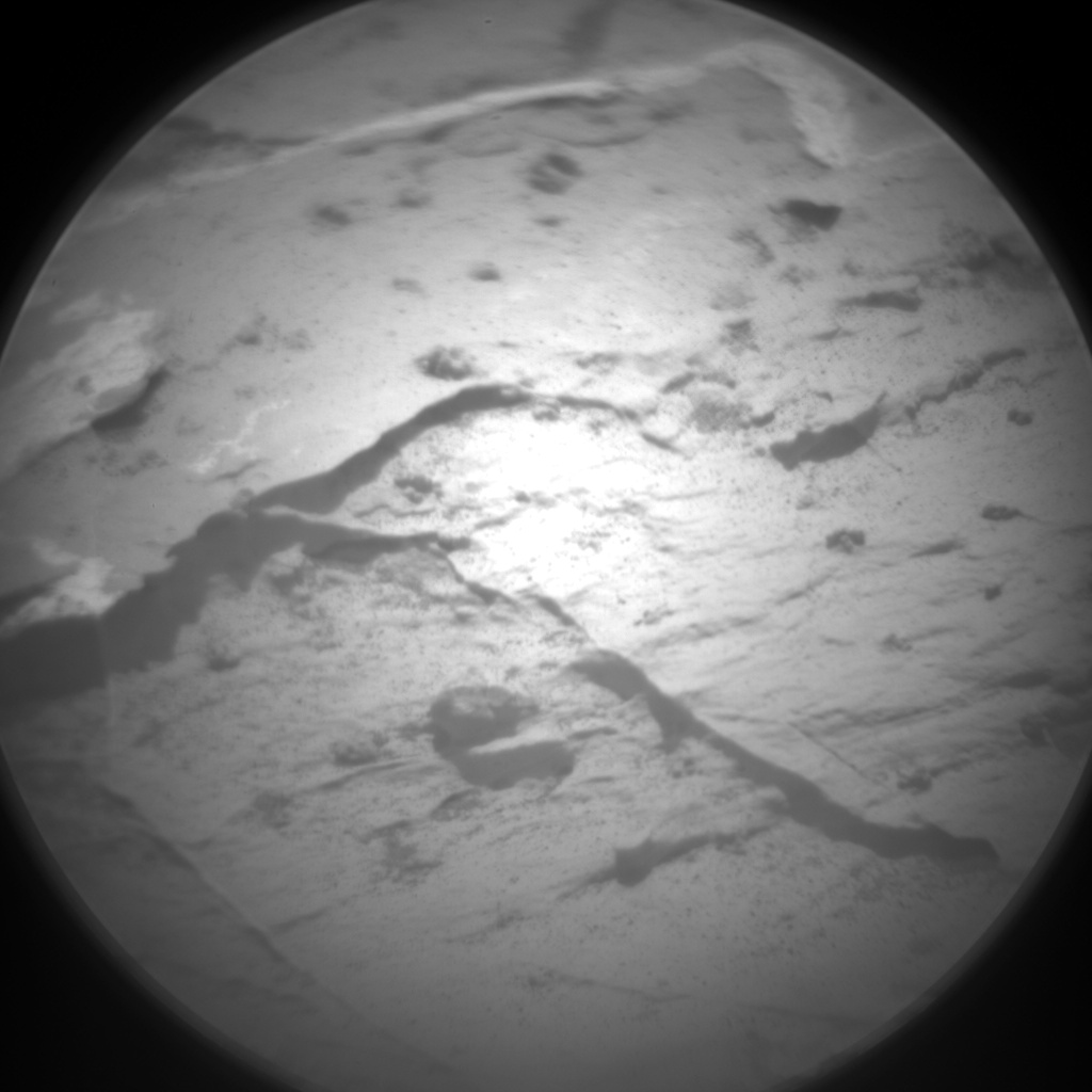 Nasa's Mars rover Curiosity acquired this image using its Chemistry & Camera (ChemCam) on Sol 2052, at drive 1554, site number 70