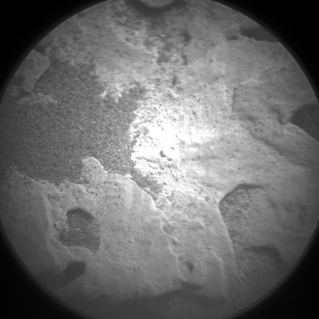 Nasa's Mars rover Curiosity acquired this image using its Chemistry & Camera (ChemCam) on Sol 2052, at drive 1668, site number 70