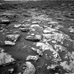 Nasa's Mars rover Curiosity acquired this image using its Left Navigation Camera on Sol 2052, at drive 1574, site number 70