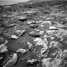 Nasa's Mars rover Curiosity acquired this image using its Left Navigation Camera on Sol 2052, at drive 1592, site number 70