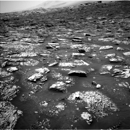 Nasa's Mars rover Curiosity acquired this image using its Left Navigation Camera on Sol 2052, at drive 1610, site number 70