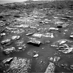 Nasa's Mars rover Curiosity acquired this image using its Left Navigation Camera on Sol 2052, at drive 1634, site number 70
