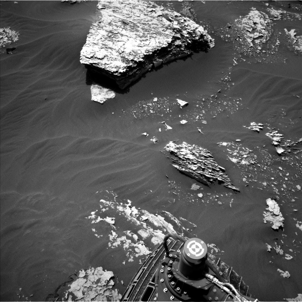 NASA's Mars rover Curiosity acquired this image using its Left Navigation Camera (Navcams) on Sol 2052