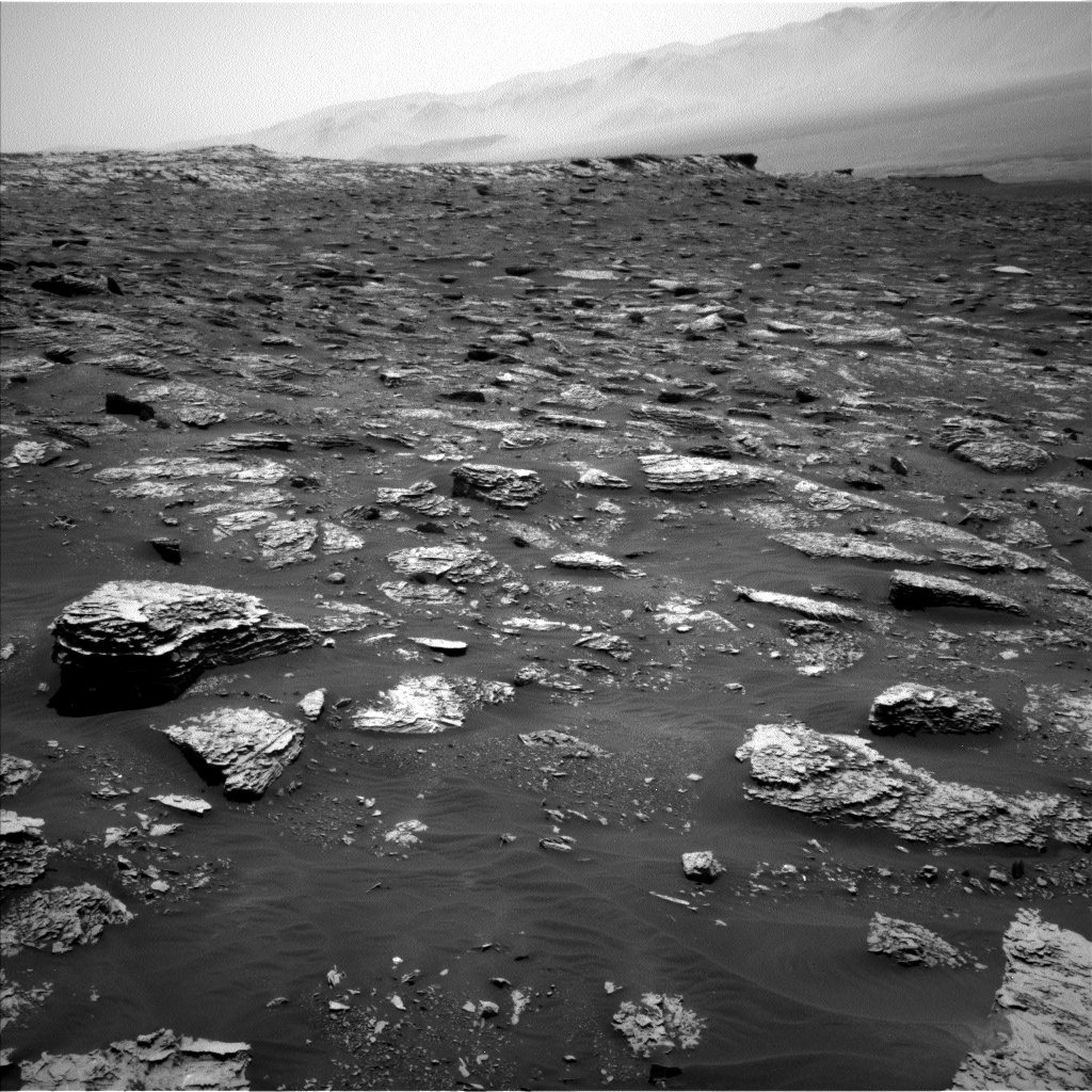 Nasa's Mars rover Curiosity acquired this image using its Left Navigation Camera on Sol 2052, at drive 1668, site number 70