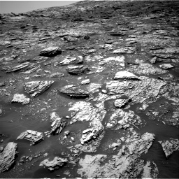 Nasa's Mars rover Curiosity acquired this image using its Right Navigation Camera on Sol 2052, at drive 1592, site number 70
