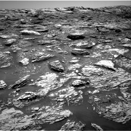 Nasa's Mars rover Curiosity acquired this image using its Right Navigation Camera on Sol 2052, at drive 1610, site number 70