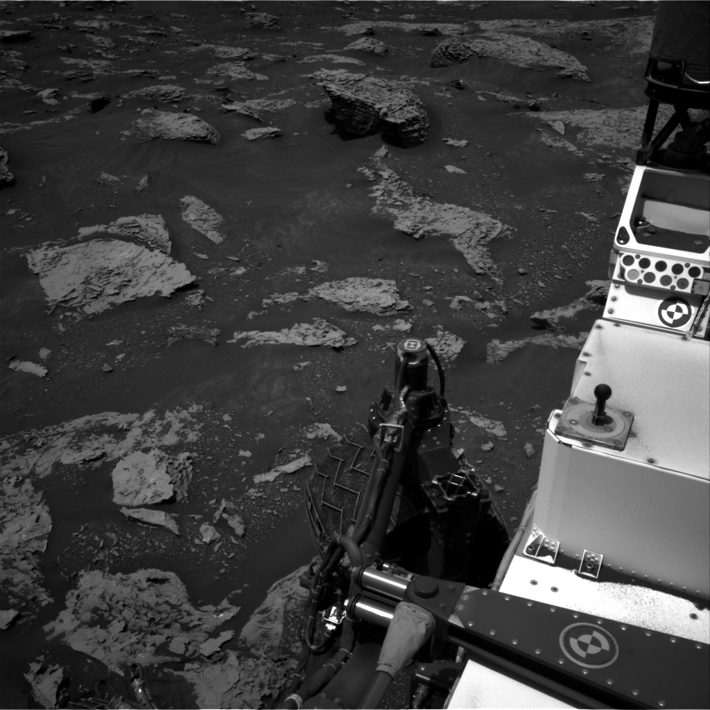 Nasa's Mars rover Curiosity acquired this image using its Right Navigation Camera on Sol 2052, at drive 1616, site number 70