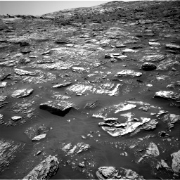 Nasa's Mars rover Curiosity acquired this image using its Right Navigation Camera on Sol 2052, at drive 1640, site number 70