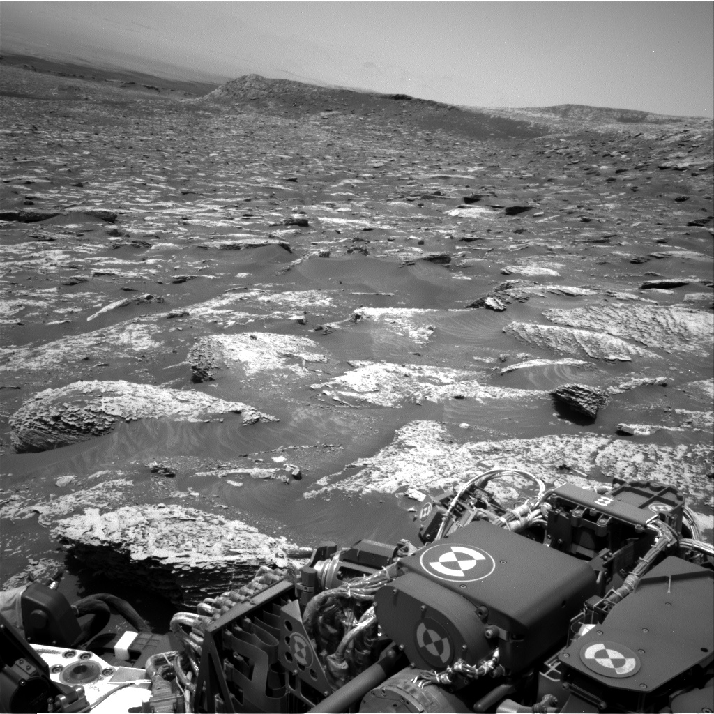 Nasa's Mars rover Curiosity acquired this image using its Right Navigation Camera on Sol 2052, at drive 1652, site number 70