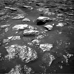 Nasa's Mars rover Curiosity acquired this image using its Right Navigation Camera on Sol 2052, at drive 1658, site number 70