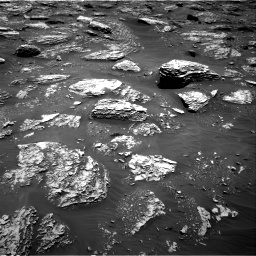 Nasa's Mars rover Curiosity acquired this image using its Right Navigation Camera on Sol 2052, at drive 1664, site number 70