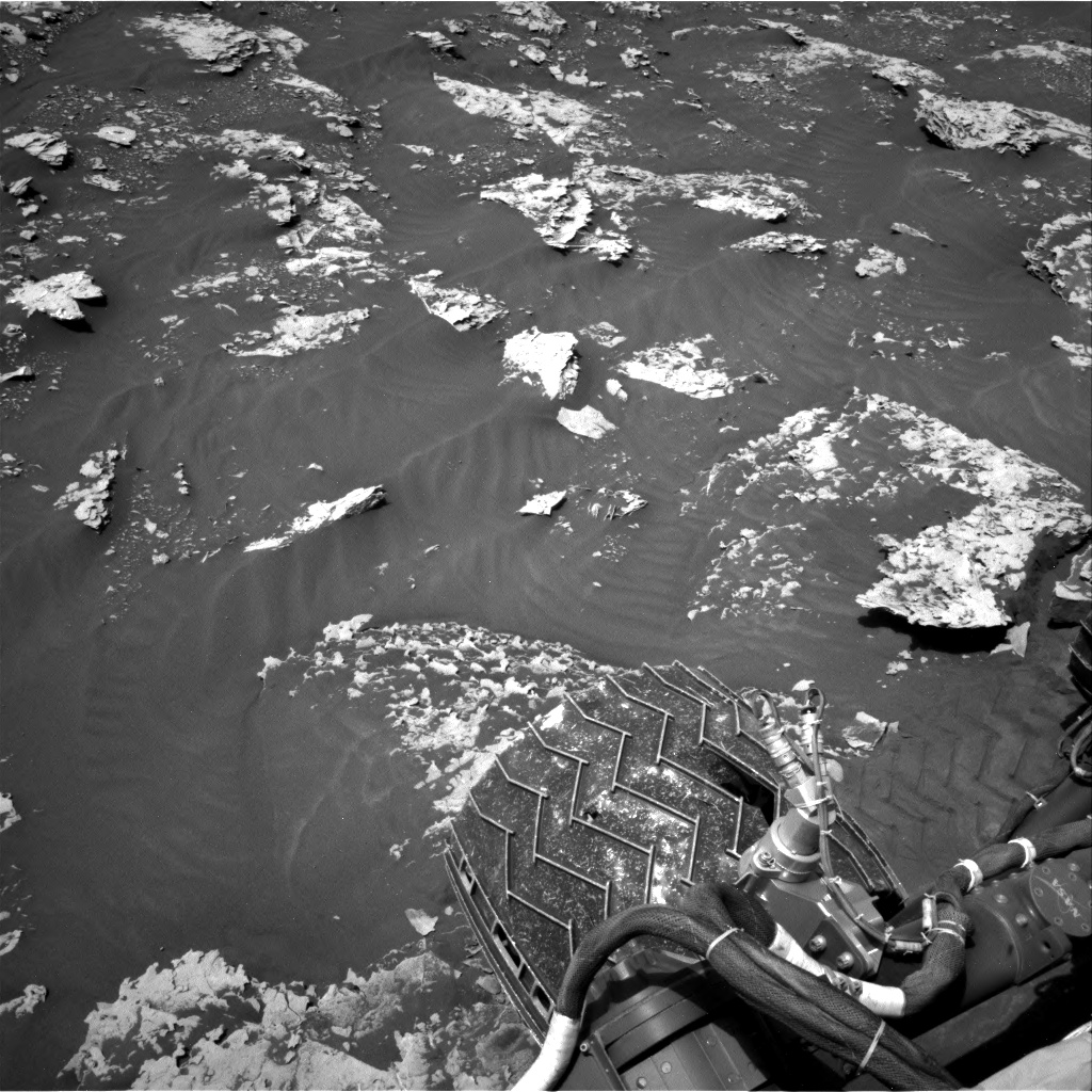 Nasa's Mars rover Curiosity acquired this image using its Right Navigation Camera on Sol 2052, at drive 1668, site number 70
