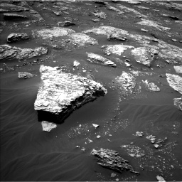 Nasa's Mars rover Curiosity acquired this image using its Left Navigation Camera on Sol 2053, at drive 1674, site number 70