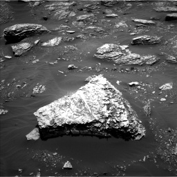 Nasa's Mars rover Curiosity acquired this image using its Left Navigation Camera on Sol 2053, at drive 1710, site number 70