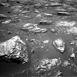 Nasa's Mars rover Curiosity acquired this image using its Left Navigation Camera on Sol 2053, at drive 1716, site number 70
