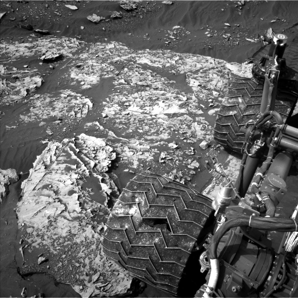 NASA's Mars rover Curiosity acquired this image using its Left Navigation Camera (Navcams) on Sol 2053