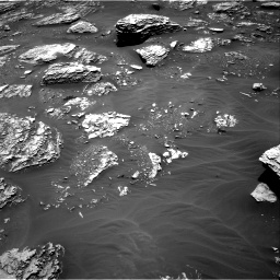 Nasa's Mars rover Curiosity acquired this image using its Right Navigation Camera on Sol 2053, at drive 1698, site number 70