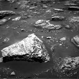 Nasa's Mars rover Curiosity acquired this image using its Right Navigation Camera on Sol 2053, at drive 1710, site number 70