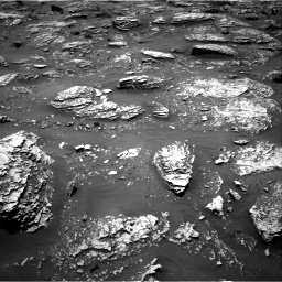 Nasa's Mars rover Curiosity acquired this image using its Right Navigation Camera on Sol 2053, at drive 1716, site number 70