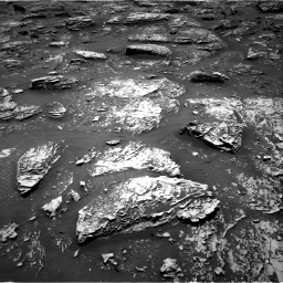 Nasa's Mars rover Curiosity acquired this image using its Right Navigation Camera on Sol 2053, at drive 1722, site number 70