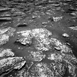 Nasa's Mars rover Curiosity acquired this image using its Right Navigation Camera on Sol 2053, at drive 1728, site number 70