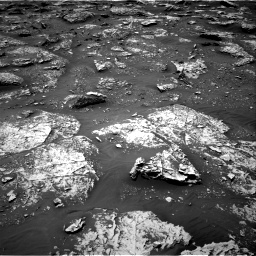 Nasa's Mars rover Curiosity acquired this image using its Right Navigation Camera on Sol 2053, at drive 1746, site number 70