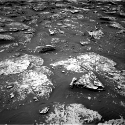 Nasa's Mars rover Curiosity acquired this image using its Right Navigation Camera on Sol 2053, at drive 1752, site number 70