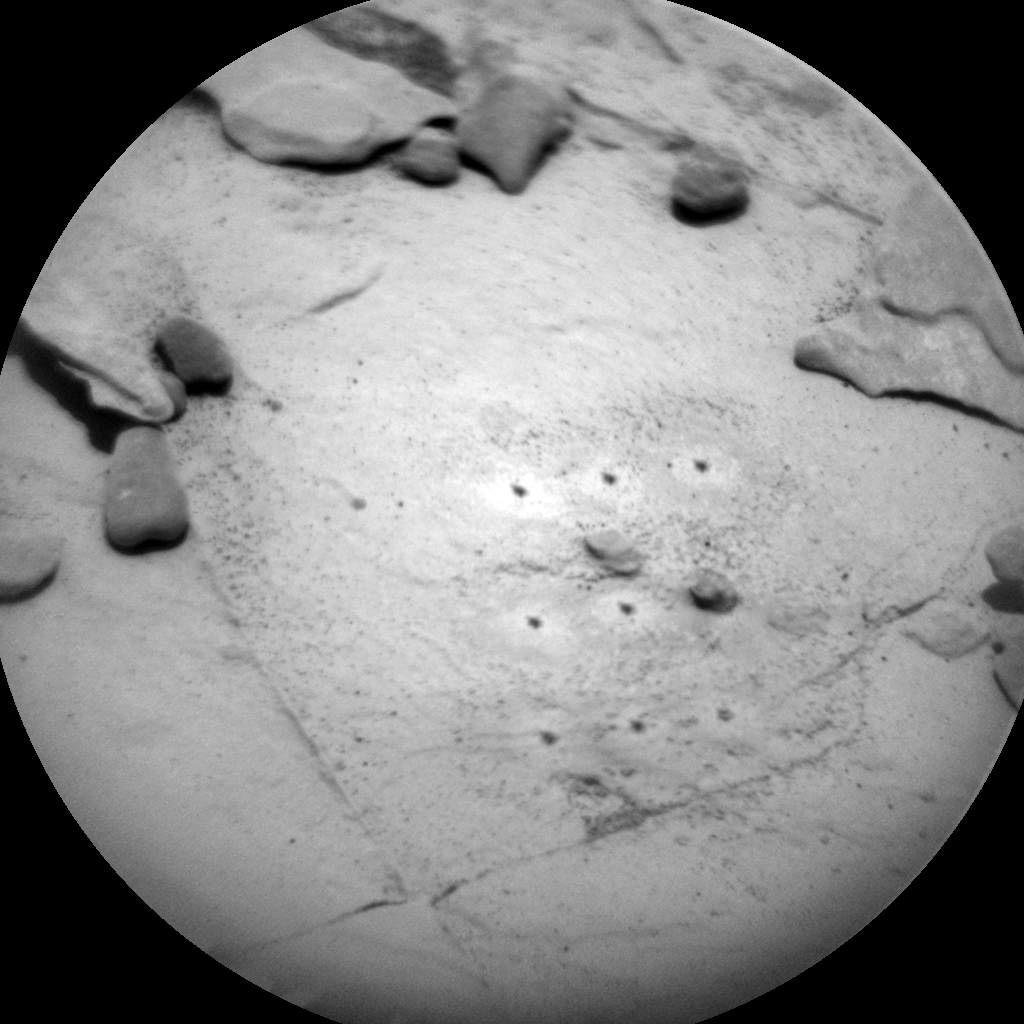 Nasa's Mars rover Curiosity acquired this image using its Chemistry & Camera (ChemCam) on Sol 2053, at drive 1668, site number 70