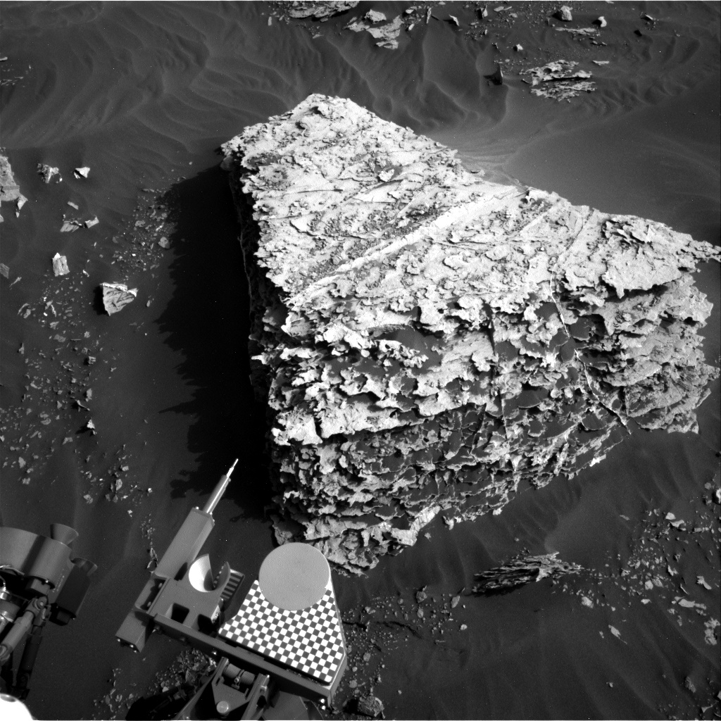 Nasa's Mars rover Curiosity acquired this image using its Right Navigation Camera on Sol 2054, at drive 1752, site number 70