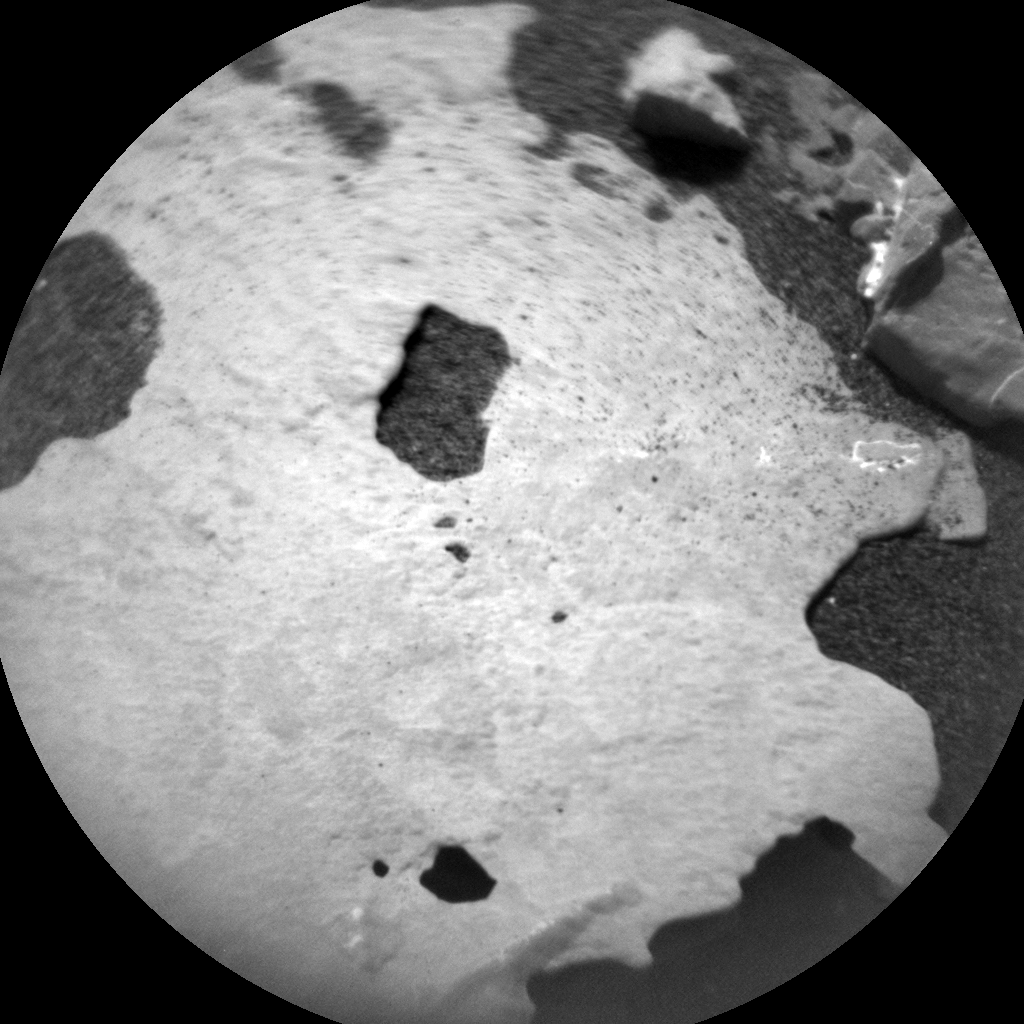 Nasa's Mars rover Curiosity acquired this image using its Chemistry & Camera (ChemCam) on Sol 2054, at drive 1752, site number 70