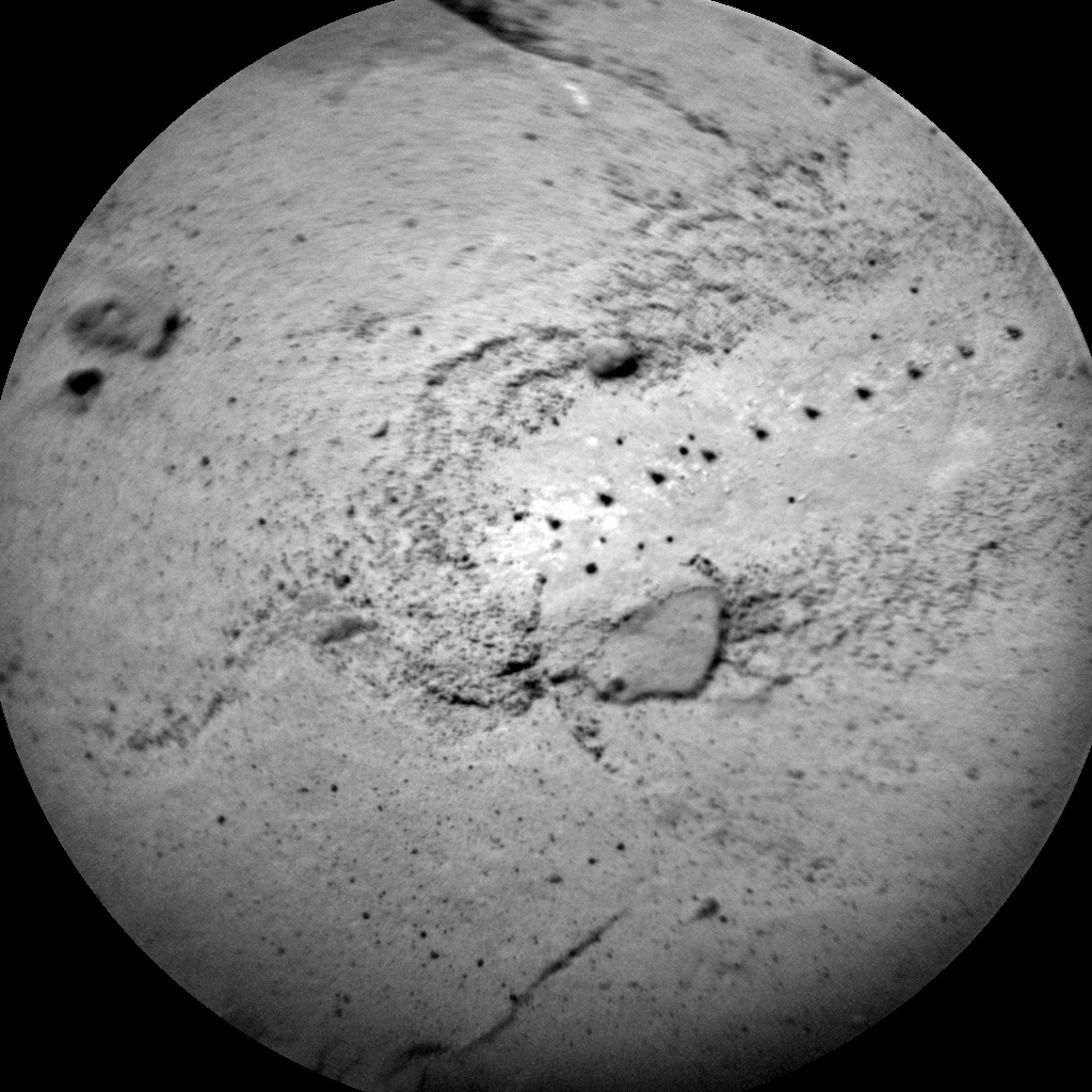 Nasa's Mars rover Curiosity acquired this image using its Chemistry & Camera (ChemCam) on Sol 2056, at drive 1752, site number 70