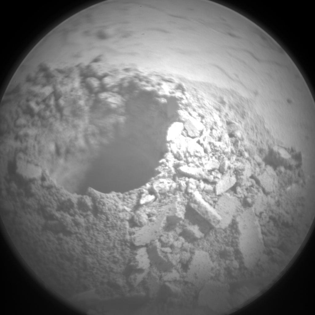 Nasa's Mars rover Curiosity acquired this image using its Chemistry & Camera (ChemCam) on Sol 2057, at drive 1752, site number 70