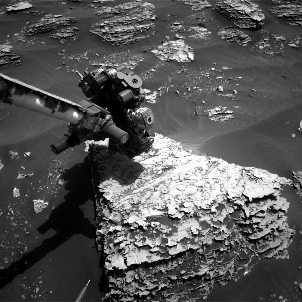 Nasa's Mars rover Curiosity acquired this image using its Right Navigation Camera on Sol 2057, at drive 1752, site number 70