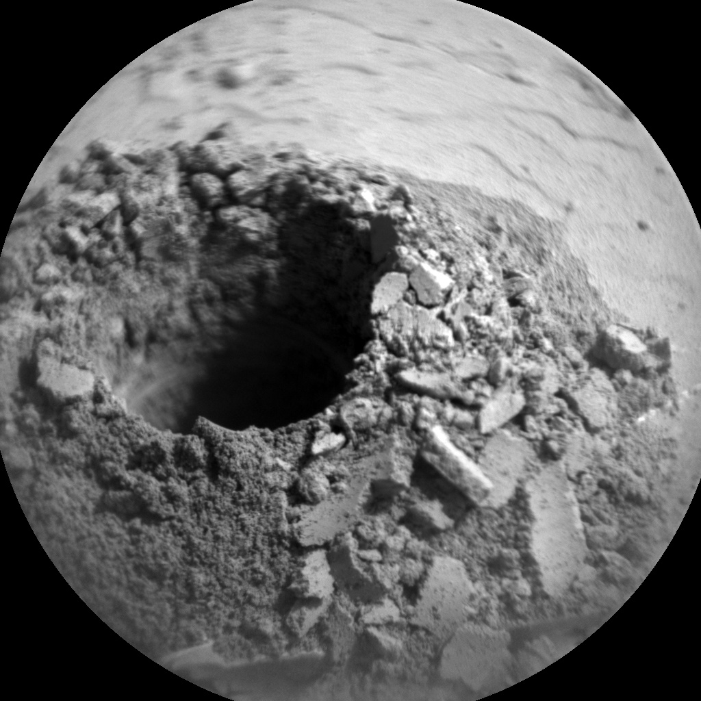 NASA's Mars rover Curiosity acquired this image using its Chemistry & Camera (ChemCam) on Sol 2057