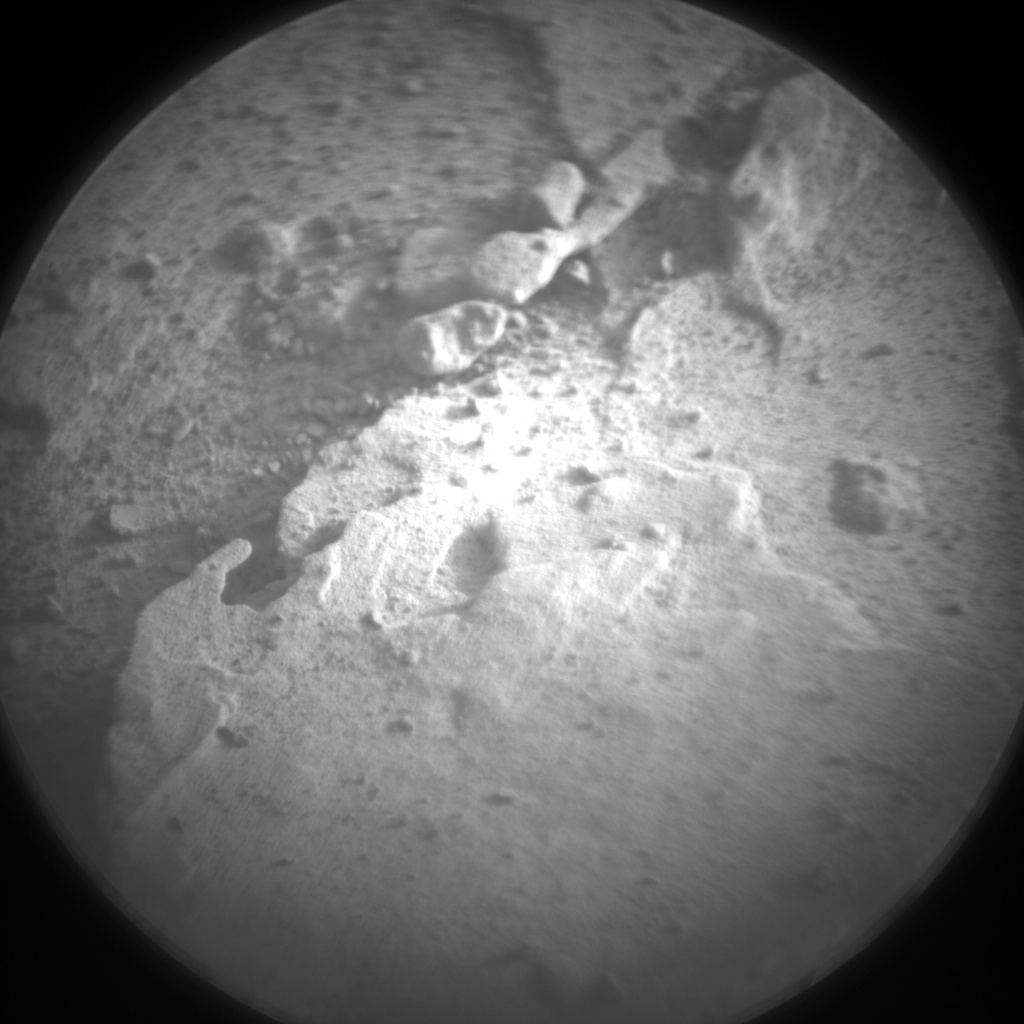 Nasa's Mars rover Curiosity acquired this image using its Chemistry & Camera (ChemCam) on Sol 2059, at drive 1752, site number 70