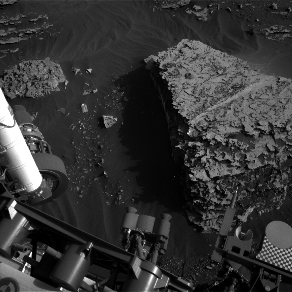 Nasa's Mars rover Curiosity acquired this image using its Left Navigation Camera on Sol 2059, at drive 1752, site number 70