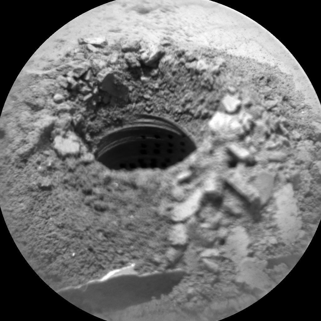 Nasa's Mars rover Curiosity acquired this image using its Chemistry & Camera (ChemCam) on Sol 2061, at drive 1752, site number 70