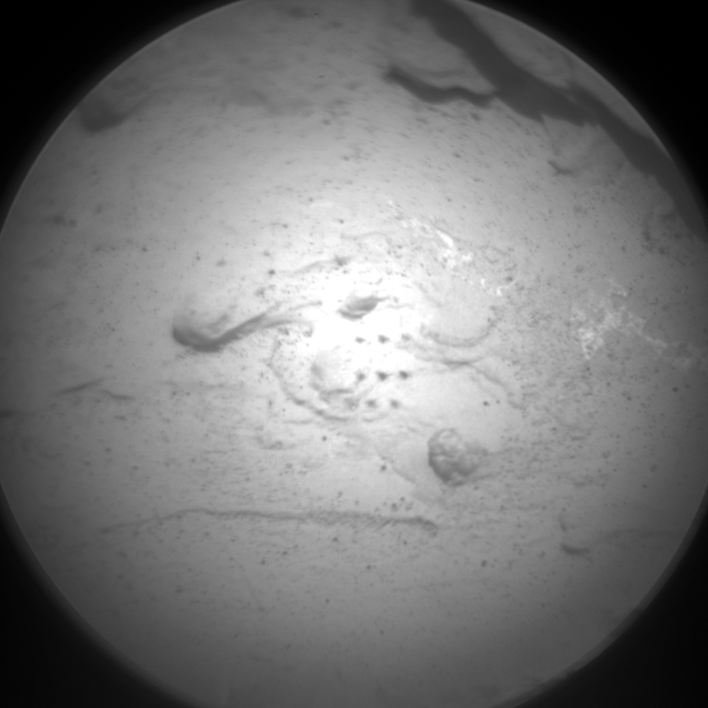 Nasa's Mars rover Curiosity acquired this image using its Chemistry & Camera (ChemCam) on Sol 2063, at drive 1752, site number 70