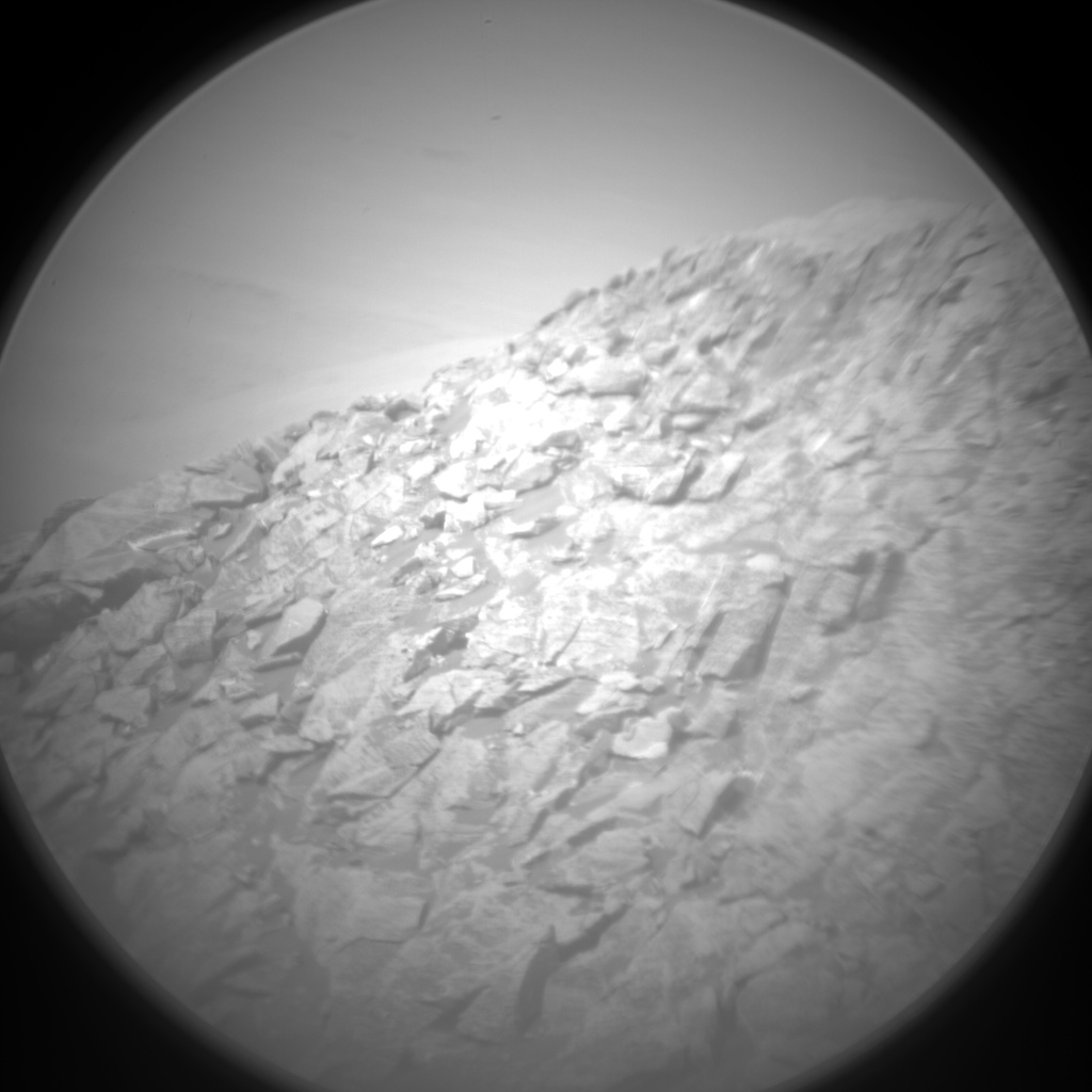 Nasa's Mars rover Curiosity acquired this image using its Chemistry & Camera (ChemCam) on Sol 2067, at drive 1752, site number 70