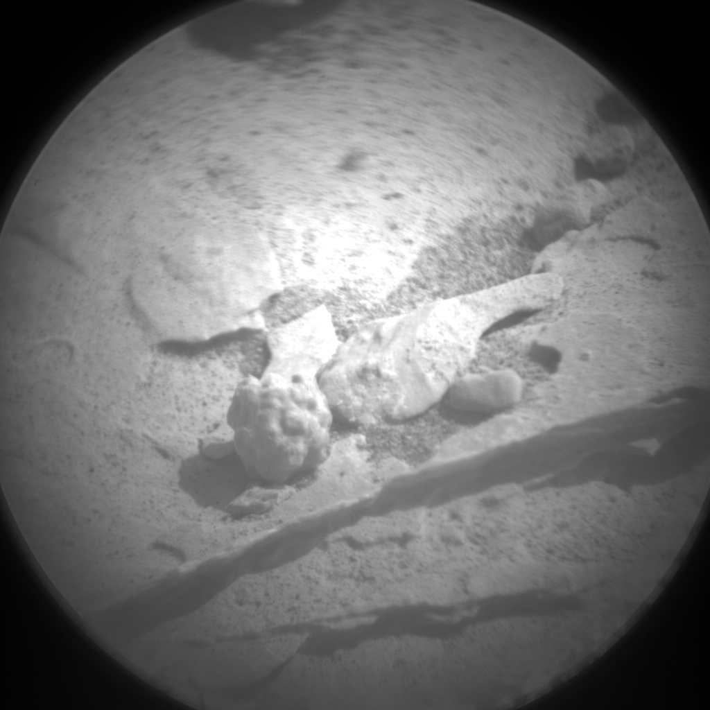 Nasa's Mars rover Curiosity acquired this image using its Chemistry & Camera (ChemCam) on Sol 2070, at drive 1752, site number 70