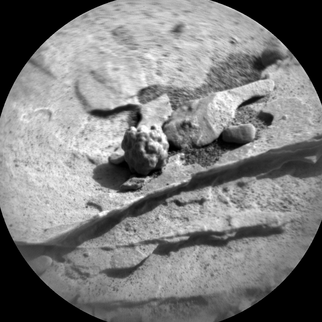 Nasa's Mars rover Curiosity acquired this image using its Chemistry & Camera (ChemCam) on Sol 2074, at drive 1752, site number 70