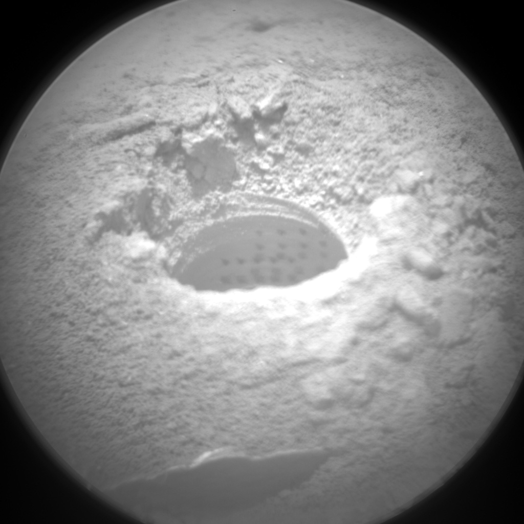 Nasa's Mars rover Curiosity acquired this image using its Chemistry & Camera (ChemCam) on Sol 2075, at drive 1752, site number 70