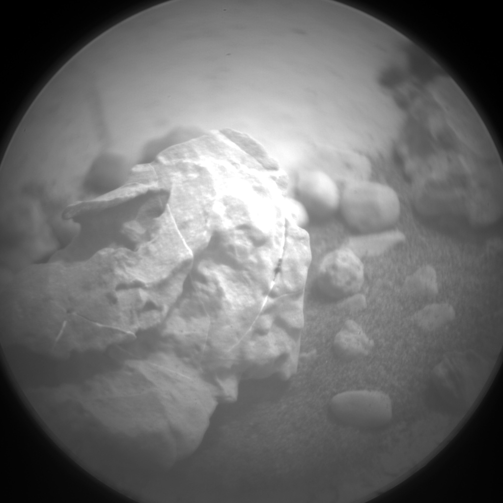 Nasa's Mars rover Curiosity acquired this image using its Chemistry & Camera (ChemCam) on Sol 2077, at drive 1752, site number 70
