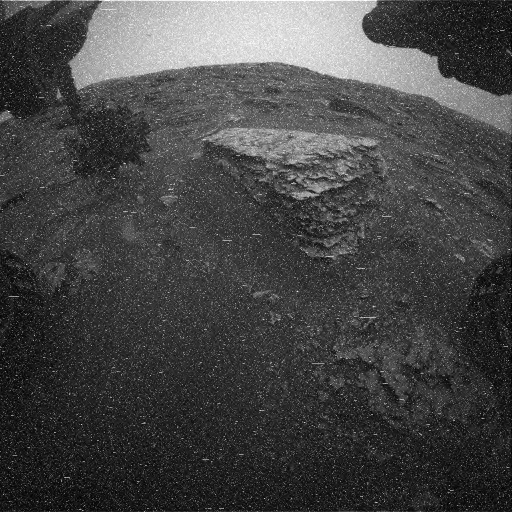 Nasa's Mars rover Curiosity acquired this image using its Front Hazard Avoidance Camera (Front Hazcam) on Sol 2083, at drive 1752, site number 70