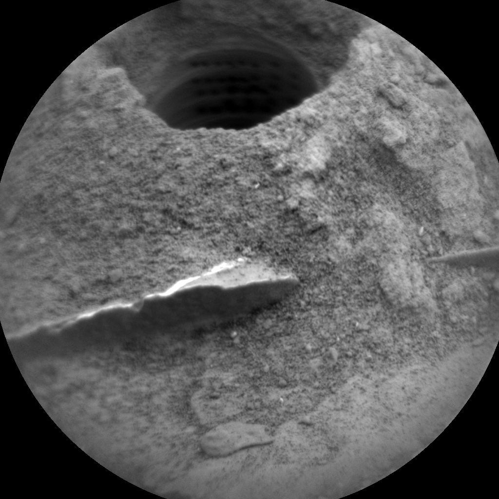 Nasa's Mars rover Curiosity acquired this image using its Chemistry & Camera (ChemCam) on Sol 2083, at drive 1752, site number 70