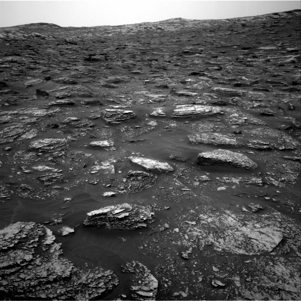 Nasa's Mars rover Curiosity acquired this image using its Right Navigation Camera on Sol 2084, at drive 0, site number 71