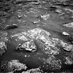 Nasa's Mars rover Curiosity acquired this image using its Left Navigation Camera on Sol 2086, at drive 6, site number 71