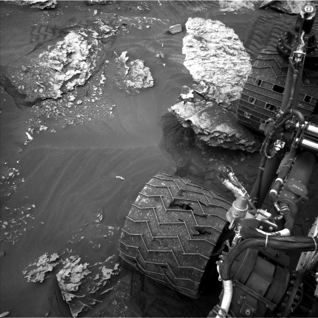 Sol 2087: Slippery slope