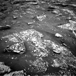 Nasa's Mars rover Curiosity acquired this image using its Right Navigation Camera on Sol 2086, at drive 6, site number 71