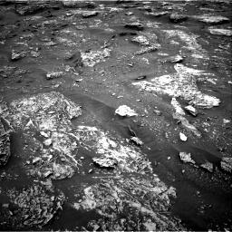 Nasa's Mars rover Curiosity acquired this image using its Right Navigation Camera on Sol 2086, at drive 12, site number 71